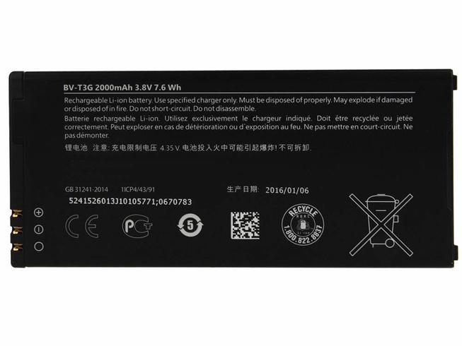 Bateria Telefonu Komórkowy NOKIA BV-T3G